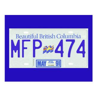BC91 POSTCARD