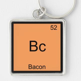 Bc - Bacon Funny Element Chemistry Meme T-Shirt Keychain