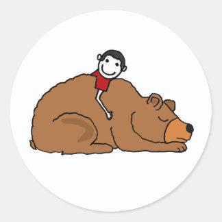 BC- Bear Hug Love Stickers