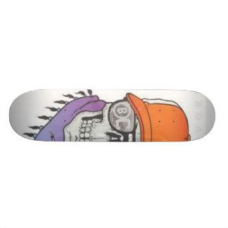 BC- boa skull Skateboard Deck