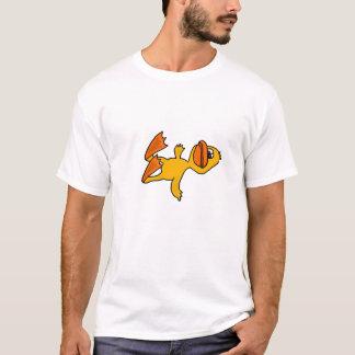 BC- Cartoon Duck Knocked Over T-shirt