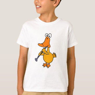 BC- Duck Playing the Clarinet T-Shirt
