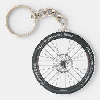 BC&F Bike Tire Key Chain