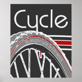 BC&F Cycle Poster
