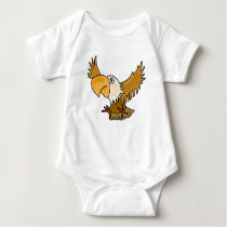 BC- Funny Eagle Baby Outfit Baby Bodysuit
