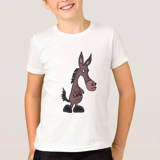 BC- Funny Mule Cartoon Shirt