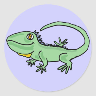 BC- Iguana Cartoon Sticker