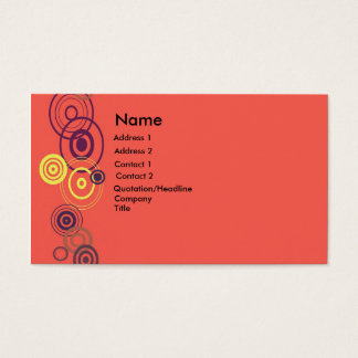 bc, Name, Address 1, Address 2, Contact 1, Cont... Business Card