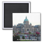BC Parliament Buildings/Victoria BC Canada Magnets