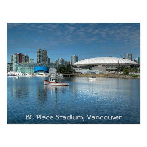 BC Place Stadium Postcard