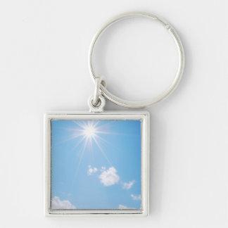 BC Rocky Mountain Sunlight Keychain