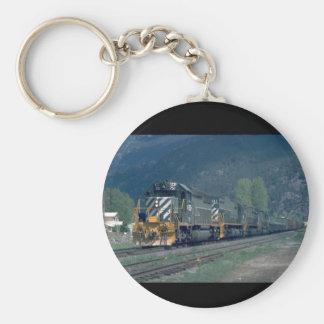 BC RY SD-40 #751_Trains Keychain