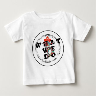 BC Skater - WHAT WE DO Baby T-Shirt