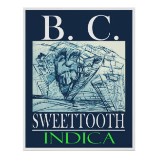BC SWEETTOOTH INDICA POSTERS