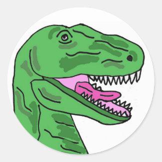 BC- T-Rex Stickers