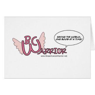 BC Warrior Greeting Cards