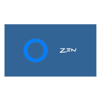 BC zen Tarjetas De Visita