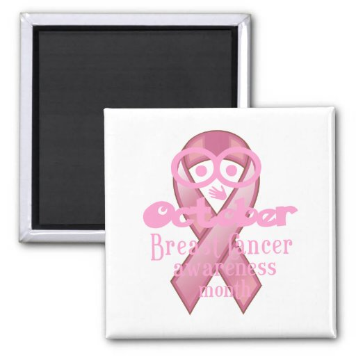 BCA pink ribbon Magnets