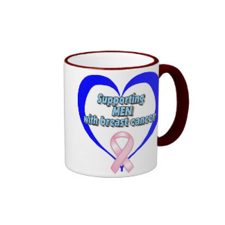 BCA - Supporting MEN w/breast cancer Coffee Mugs