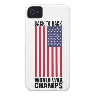 Bcak to Back World War Champs Case-Mate iPhone 4 Case