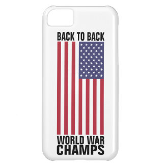 Bcak to Back World War Champs iPhone 5C Cases