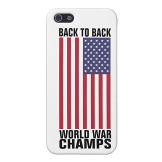 Bcak to Back World War Champs iPhone SE/5/5s Cover