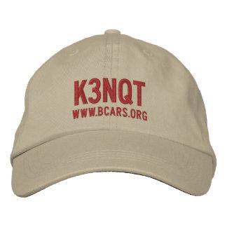 bcars hat 100 embroidered baseball cap