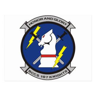 BCCS 107 Knights Postcard