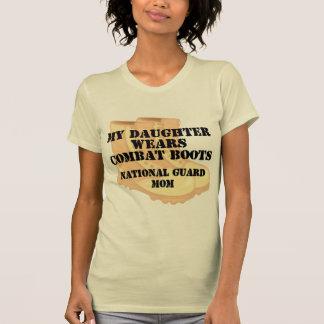 Bcd de la hija de la mamá del Guardia Nacional Camisetas
