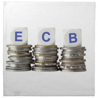 BCE - Banco Central Europeo Servilletas De Papel