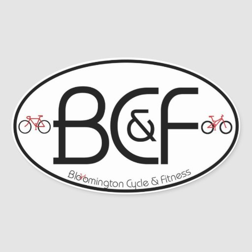 BCF Country Code style Sticker