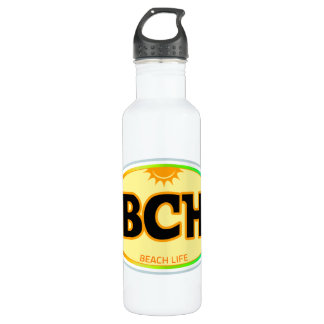 BCH - Beach Life beverage container 24oz Water Bottle