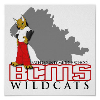 BCMS Wildcats Poster