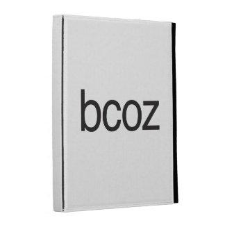 bcoz.ai iPad cases