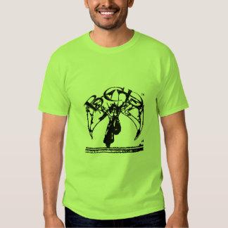 bcp black logo on green T T-Shirt