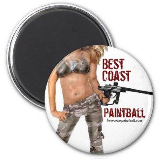BCP Logo Girl Lana 2 Inch Round Magnet