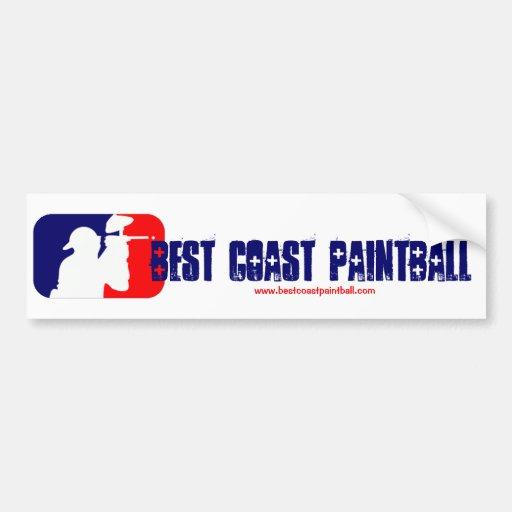 BCP Paintball Sport Logo Bumper Stickers