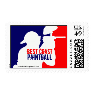 BCP Paintball Sport Logo Postage Stamp