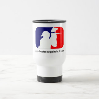 BCP Paintball Sport Logo Travel Mug