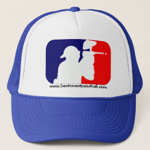 BCP Paintball Sport Logo Trucker Hat