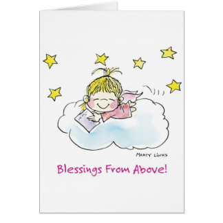 BD-004 Birthday Angel Card
