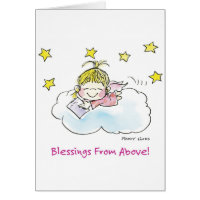 BD-004 Birthday Angel Cards