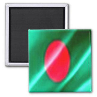 BD - Bangladesh - Bangladesh Flag Waving Magnet