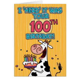 bd cow - 100 card
