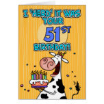 bd cow - 51 greeting cards