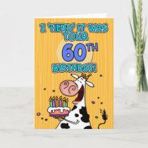 bd cow - 60 card