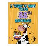 bd cow - 88 card
