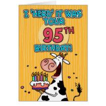 bd cow - 95 card