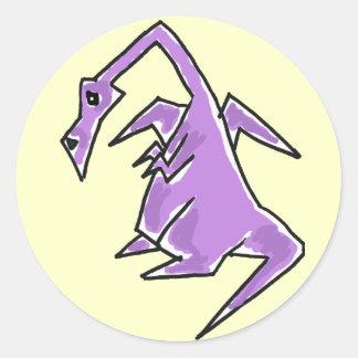BD- Funny Dragon Stickers