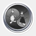 bd_logo round sticker